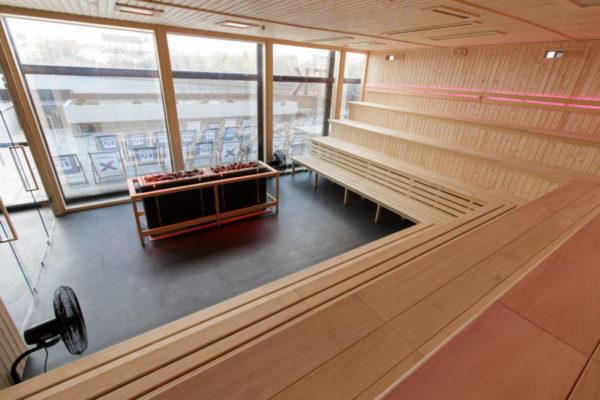 Sauna fińska panorama