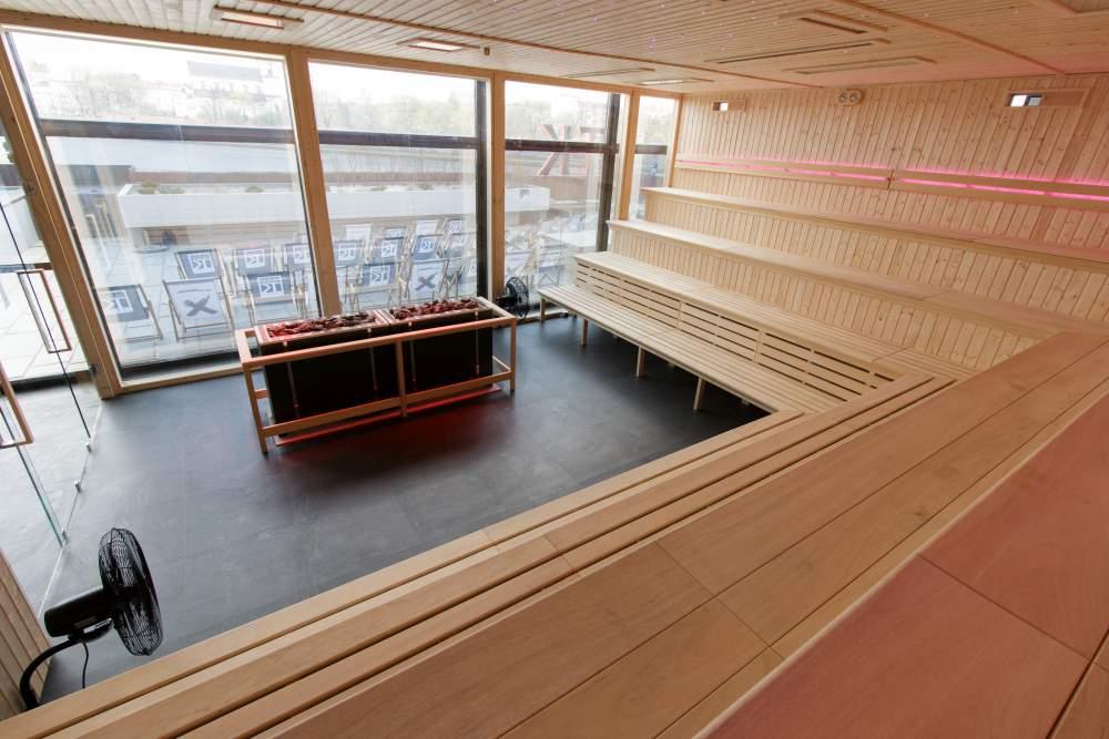 Termy Krakowskie Forum - sauna widowiskowa